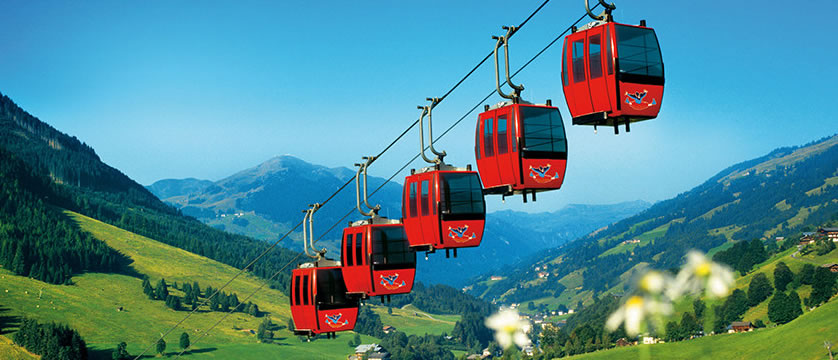 Saalbach & Hinterglemm, Austria, Chairlifts in valley.jpg